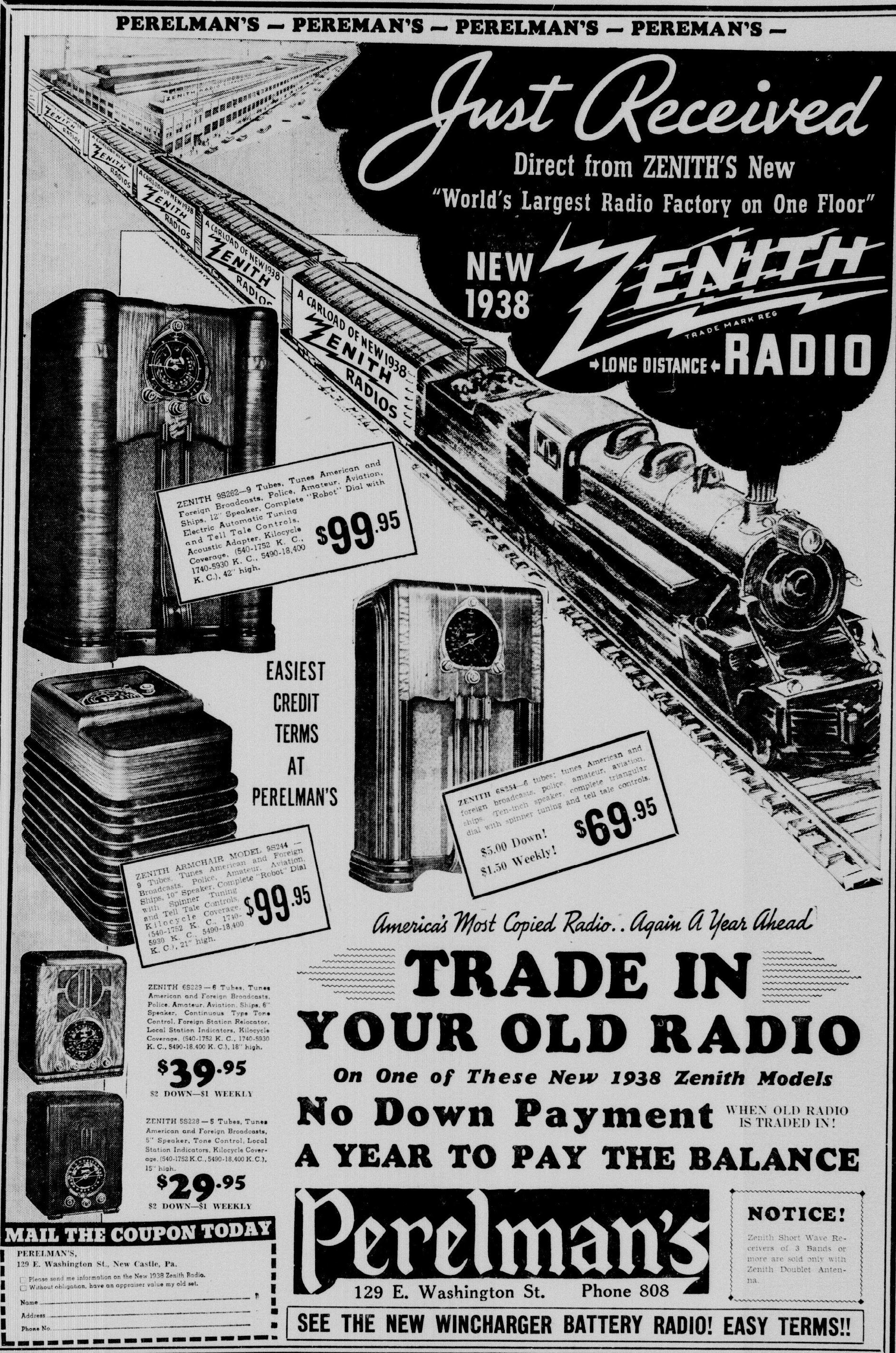 Zenith Model 5 S 228 5s228 Table Radio 1937 1938