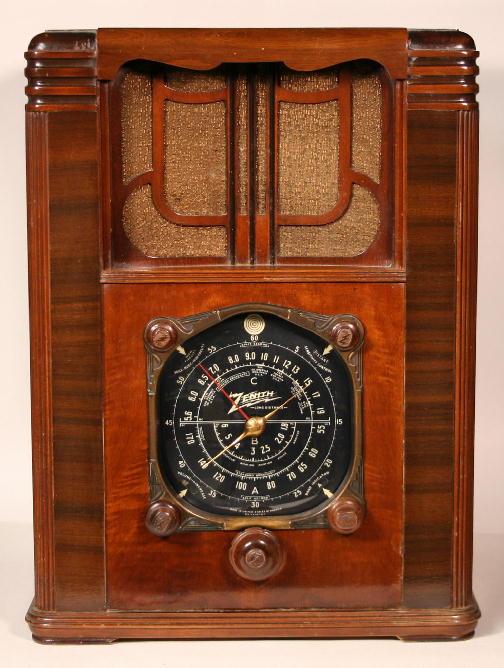 Zenith Model 8-S-129 (8S129) Big Pet Tombstone Radio