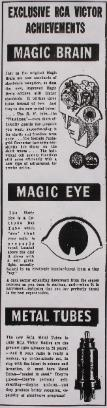 Ad Clipping for 1936 'New Magic Brain'