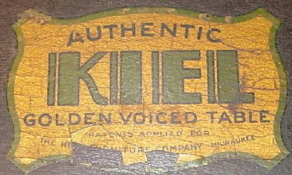 Golden Voiced Table Authenticity Label