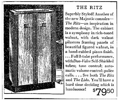 ad from Dec 1933