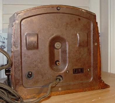 Philco Model A Clock/Timer Rear View