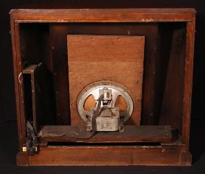 Philco 16RX Remote Speaker Rear View - Screen Removed (1933)