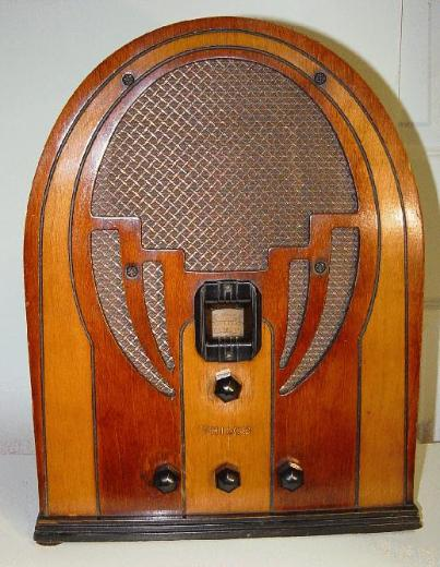 Philco 60B Cathedral Radio, third version, late production