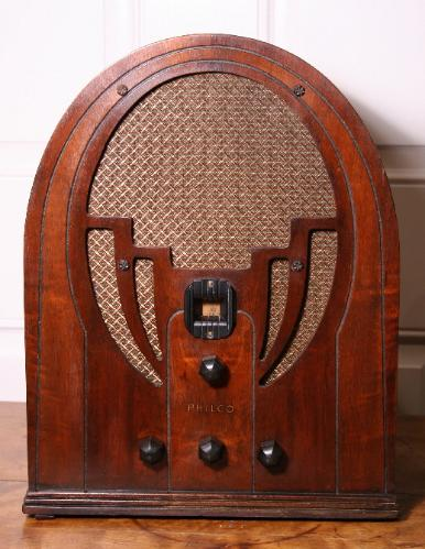 Philco 60B Cathedral Radio (2nd version of third style)