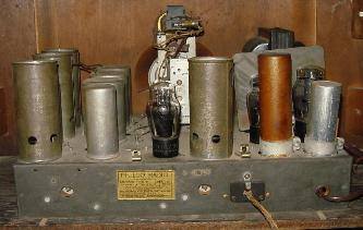 Philco Model 91D Console Tube Radio Chassis View