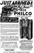 Philco 16X ad from June 1934 - click to enlarge
