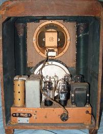 Zenith 6-S-229 Tombstone Radio Rear View (1938)